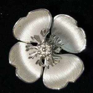 Vintage Signed Giovanni Flower Brooch